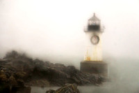 Winter Island Light in Fog