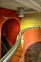 Boston Subway Station