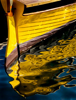Yellow Dory with Reflection