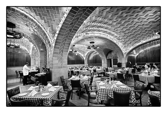 The Oyster Bar at Grand Central Terminal