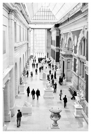 Sculpture Court at the Met